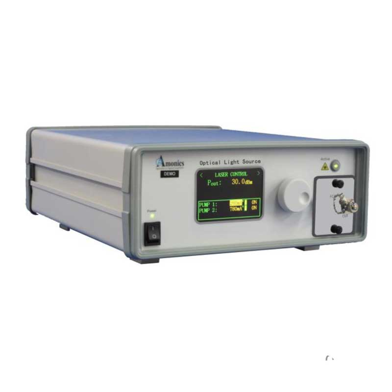 Turn-Key Fiber Laser, 1550nm Ultra-Narrow Linewidth,  2 Watts of Output Power, Laboratory Research Instrument