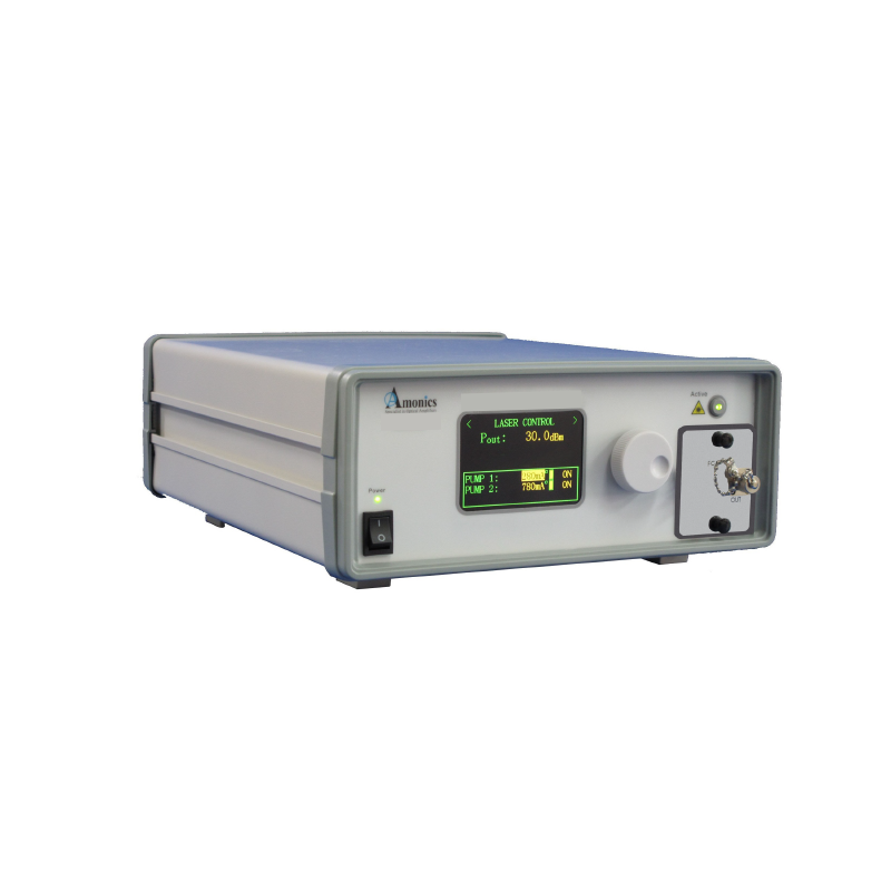 1064nm Nanosecond Pulsing Fiber Laser, 1 Watt of Output Power