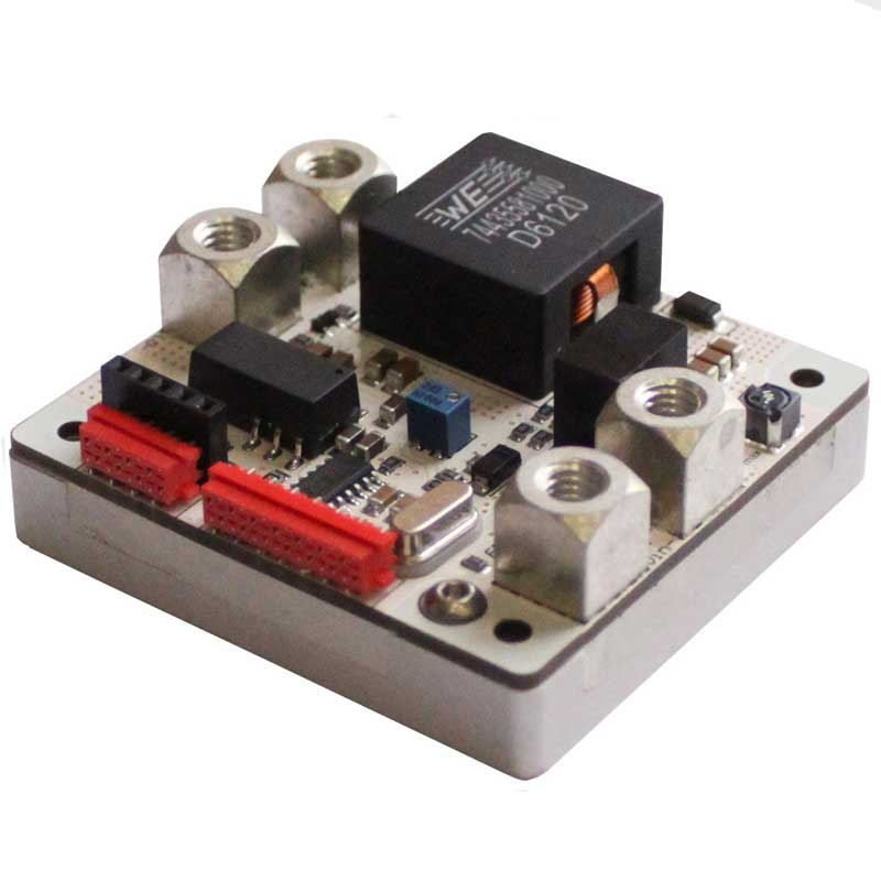 High Voltage 40 Volt, 20 Amp CW Laser Diode Driver for Multi-Single Emitters and High Compliance Voltage Lasers