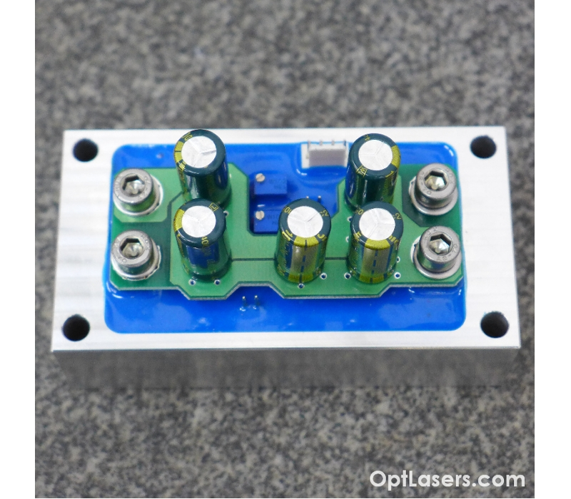 60 Amp, Low Cost High Power Laser Diode Driver Circuit with Built-In Current Limit