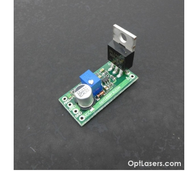 Low Cost 0 ~ 5 Amp PCB Mounted Laser Diode Driver Circuit