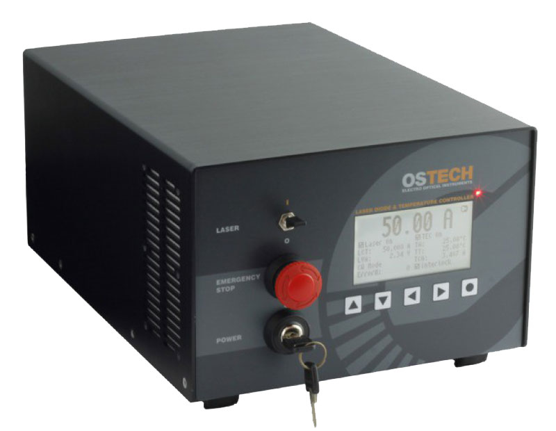 High Power OsTech Laser Diode Driver / Current Source with CW and QCW Modes of Operation