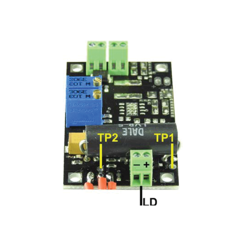 Low Cost, 0 ~ 4.5 Amp PCB Mounted Laser Diode Driver Circuit