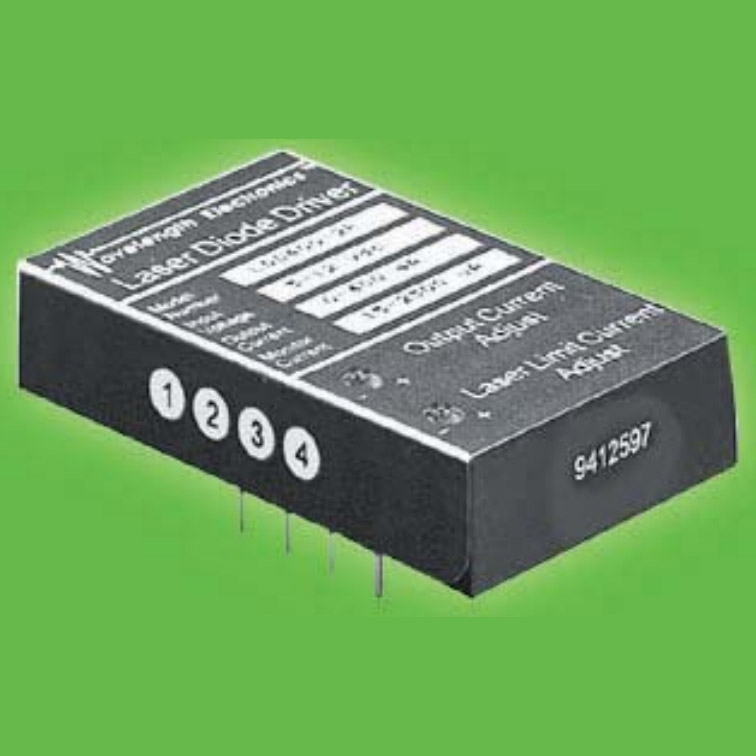 Component Level 400 mA Low Cost Laser Diode Drivers for PCB Mount and Product Integration