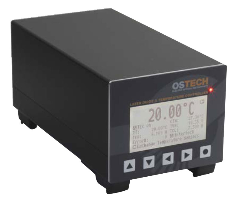 Precision High Power 360 Watt Laser Diode Thermoelectric Temperature Controller