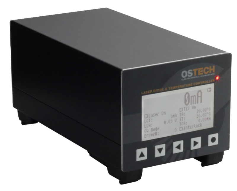 Precision Benchtop Laser Diode Controller with 1500mA Current Source and 28 Watt TEC Controller