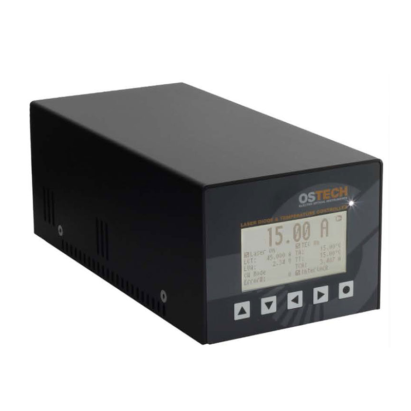 16 Amp Precision Laser Diode Current Source, 112 Watt P.I.D. Temperature Controller