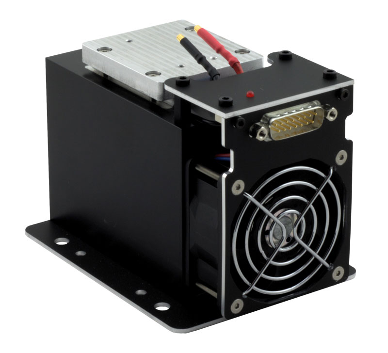 50 Watt Laser Diode Heat Sink and Cooling Module with Integrated TEC and Fan